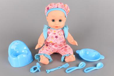 Бебе с бебешки звуци