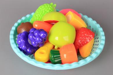Плодове и зеленчуци за рязане в панерче