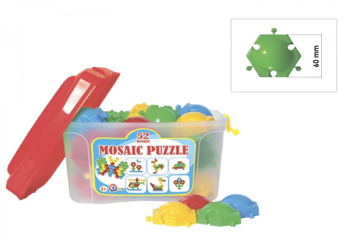 Мозаечен пъзел-52 елемента