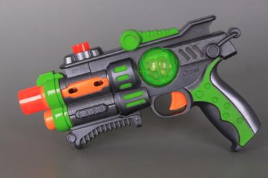 Пистолет със звукови и светлинни ефекти-24 см.