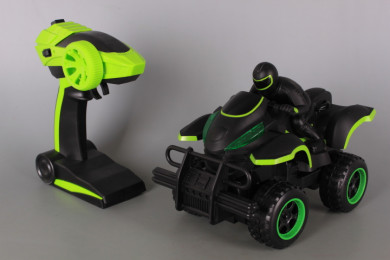 Радиоуправляемо ATV с моторист и зареждащи се батерии