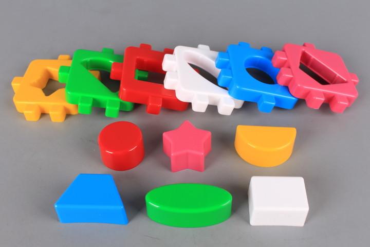 Кубче сортер геометрични форми