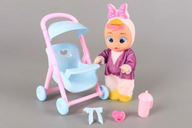 Бебе в количка / проходилка