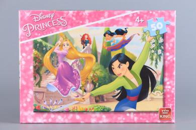 Пъзел Принцеси - 50 елемента