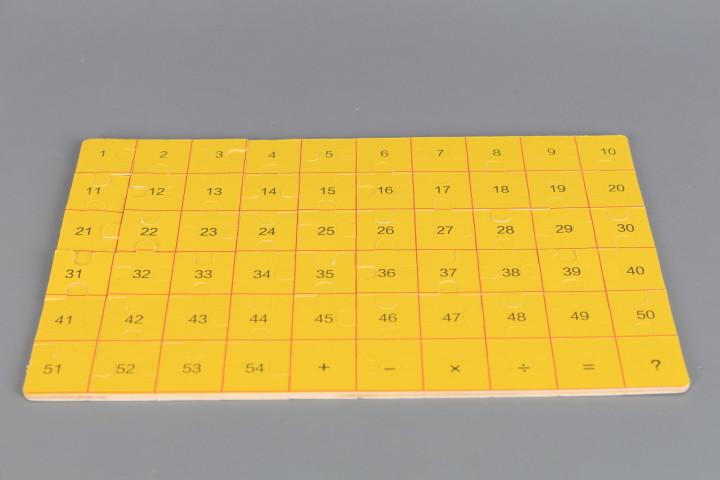 Дървен пъзел в метална кутия-60 елемента
