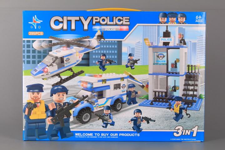 Конструктор Полицейски участък-395 ел.