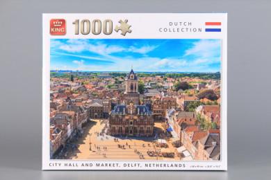Пъзел Делфт Холандия - 1000 ел.