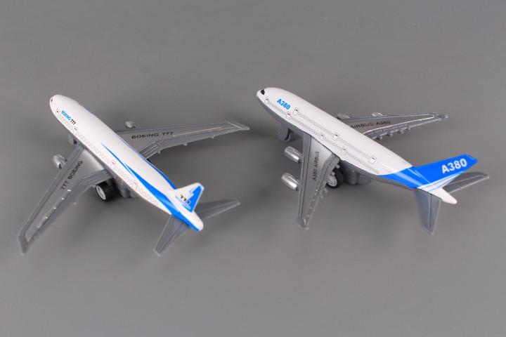 Метални самолети  PULL BACK - 2 бр.