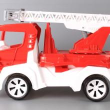 Пожарна с разтегателна стълба-46 см.