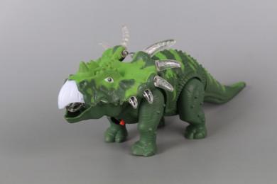 Динозавър със звукови и светлинни ефекти-ходещ