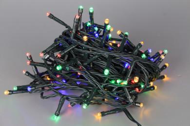 Коледни 120 LED цветни лампички - 9 m