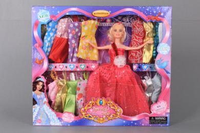 Кукла и 15 рокли