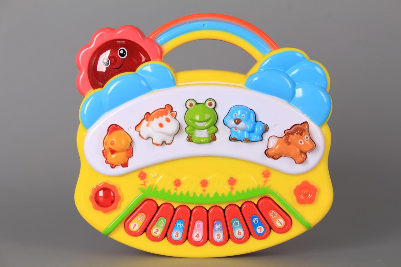 Пиано с животни