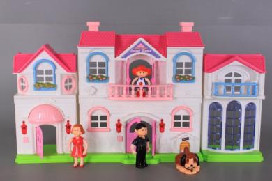 Къща за кукли и обзавеждане