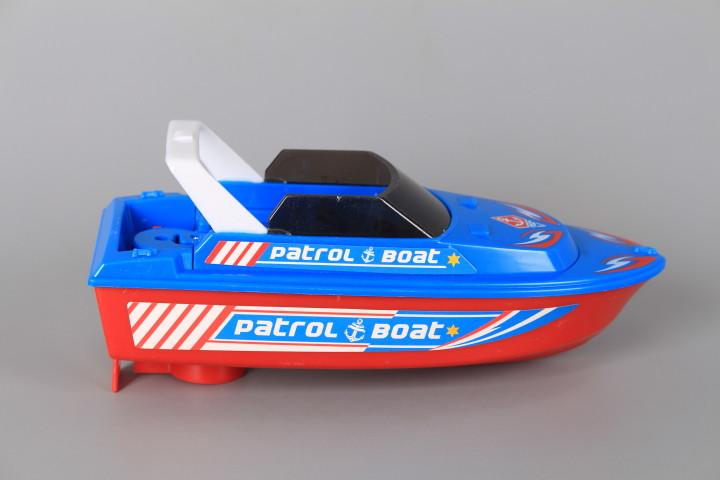 Полицейска яхта със звук и светлина