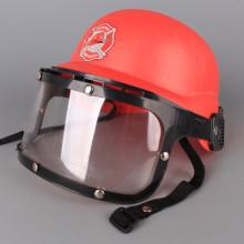 Пожарникарска каска с шлем и принадлежности