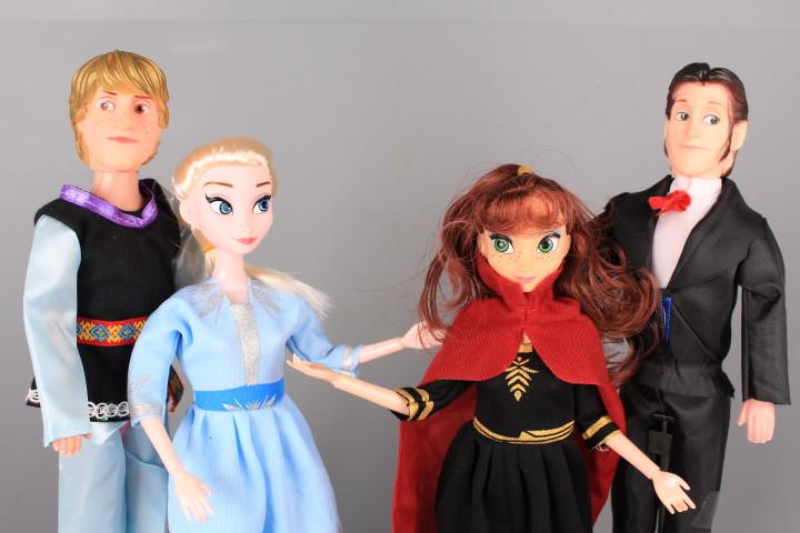 Комплект кукли