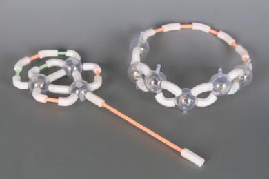 Конструктор със светещи елементи-158 елемента
