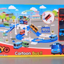 Паркинг с два фрикционни автобуса