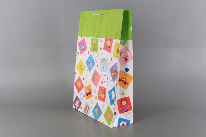 Подаръчна торбичка-бебешка 33*10*45 см
