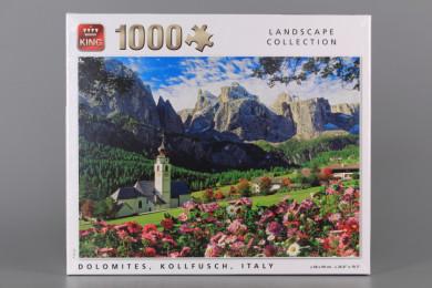 Пъзел DOLOMITES KOLLFUSCH ITALY - 1000 елемента