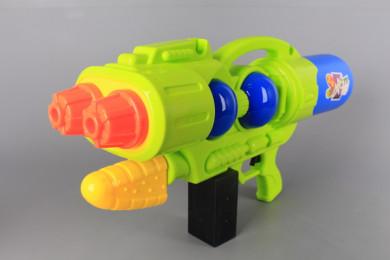 Воден пистолет с две пръскащи глави - 60 см.