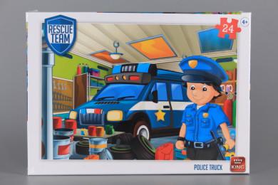 Пъзел POLICE TRUCK - 24 елемента