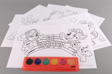 Комплект за оцветяване PAW PATROL