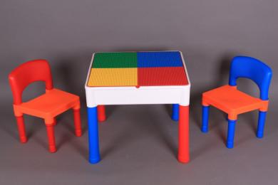 К-т Масичка за конструиране и рисуване и две столчета
