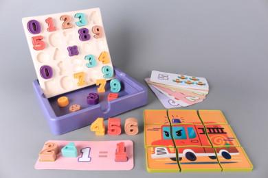 Кутия с цифри и пъзел