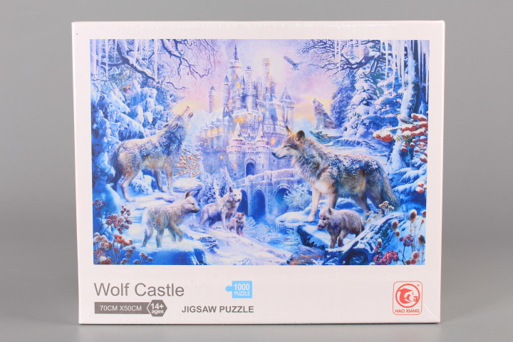 Пъзел Wolf Castle - 1000 ел.