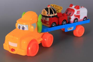 Автовоз и две машини