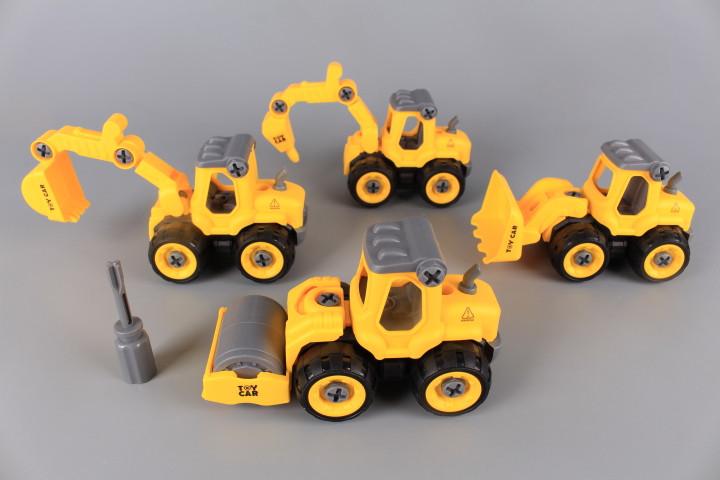 Комплект машини за разглобяване