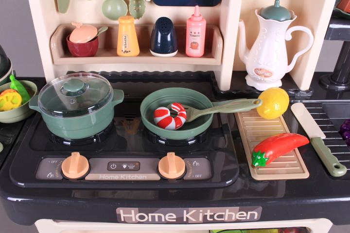 Кухня с мивка, пара, аспиратор и яйцеварка - 93 см.