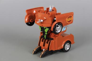 Трансформер робот-кола/ робот-камион Pull Back