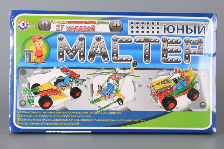Метален конструктор-27 модела