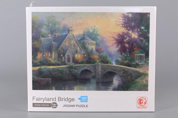 Пъзел Fairyland Bridge - 1000 ел.