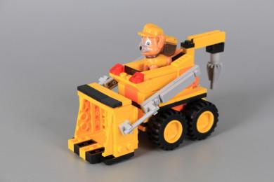 Конструктор Булдозер с кученце-149 елемента