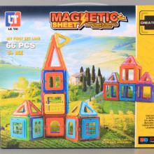 Магнитен конструктор - 66 ел.
