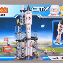 Конструктор Космическа ракета-309 ел.