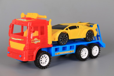 Фрикционен автовоз с кола