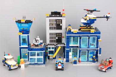 Конструктор Полицейска станция-1145 елемента