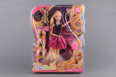 Кукла, маши и ролки за къдрене на косата
