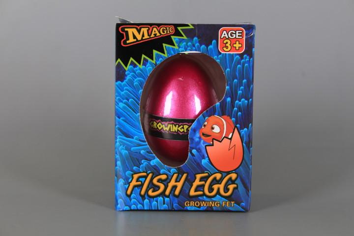 Растяща риба в яйце