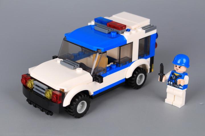 Конструктор PATROL BOAT - 1230 ел.