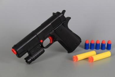 Пистолет със стрели и патрони