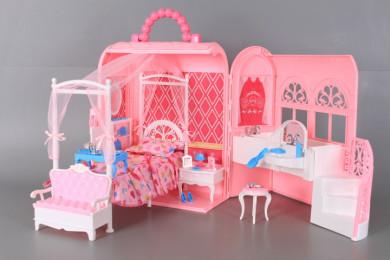 Чанта-къща за кукли