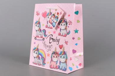 Подаръчна торбичка бебешка-26*13*33 см