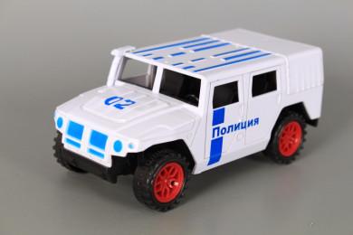 Полицейски джип с отваряеми врати-фрикционен