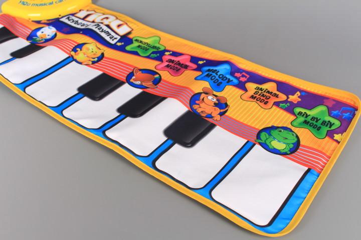 Музикално килимче Пиано-72 см